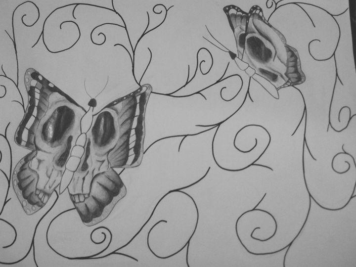 Deathly Beauty - Crofford Art