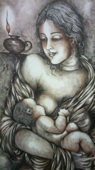 mother love - Vishaka art gallery