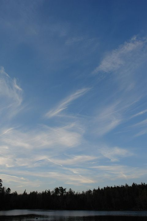 Wispy clouds - Created by Melissa