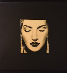 Kate Winslet - Charcoal Print