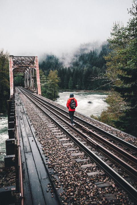 Escaping in Washington - Visionary Photography