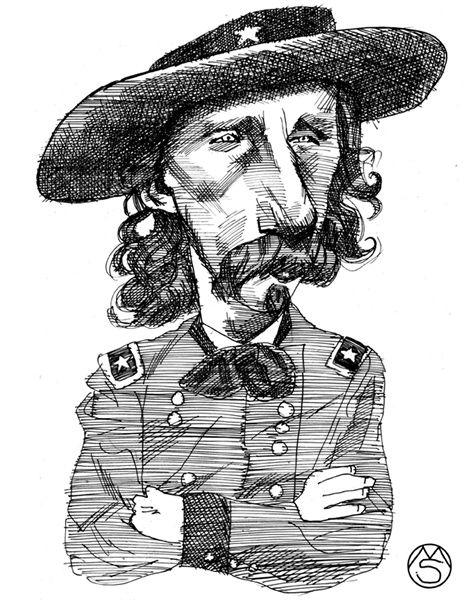 Ink Caricature. - Marcelo Suárez