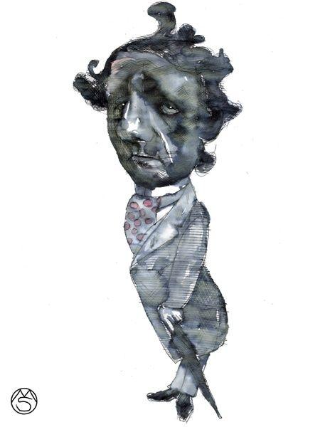 Caricature. - Marcelo Suárez