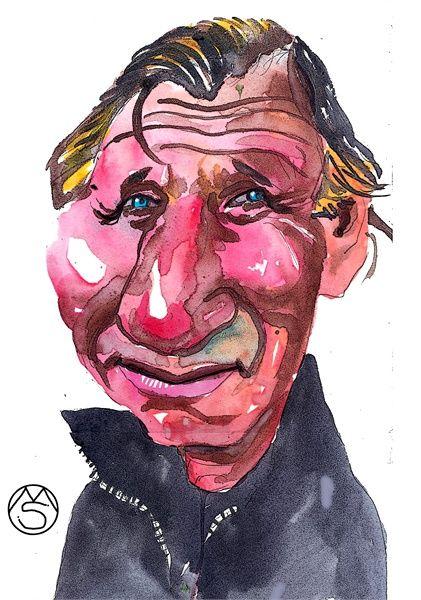 Caricature - Marcelo Suárez