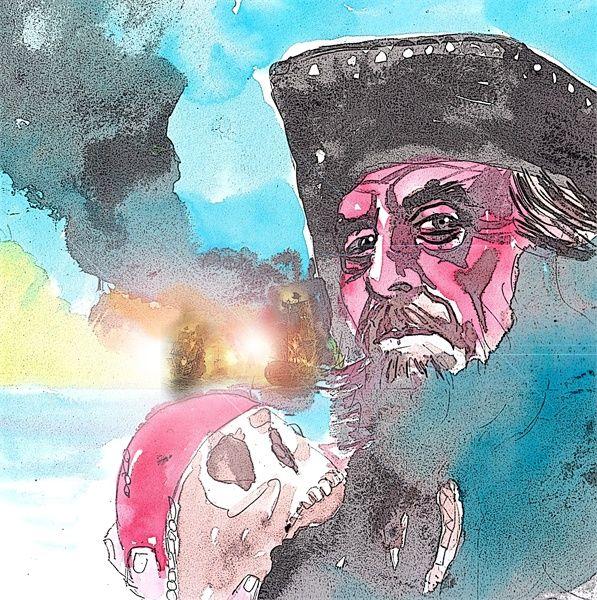 Pirates of the Caribbeanm. - Marcelo Suárez