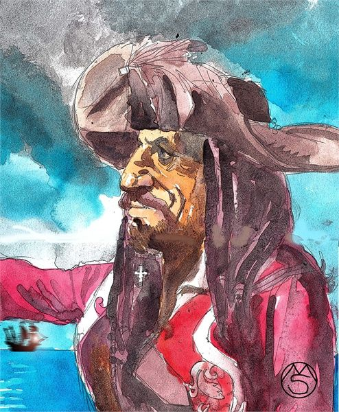 Pirates of the Caribbean. - Marcelo Suárez