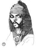Ink caricature