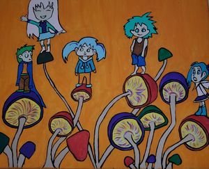Children of the shrooms