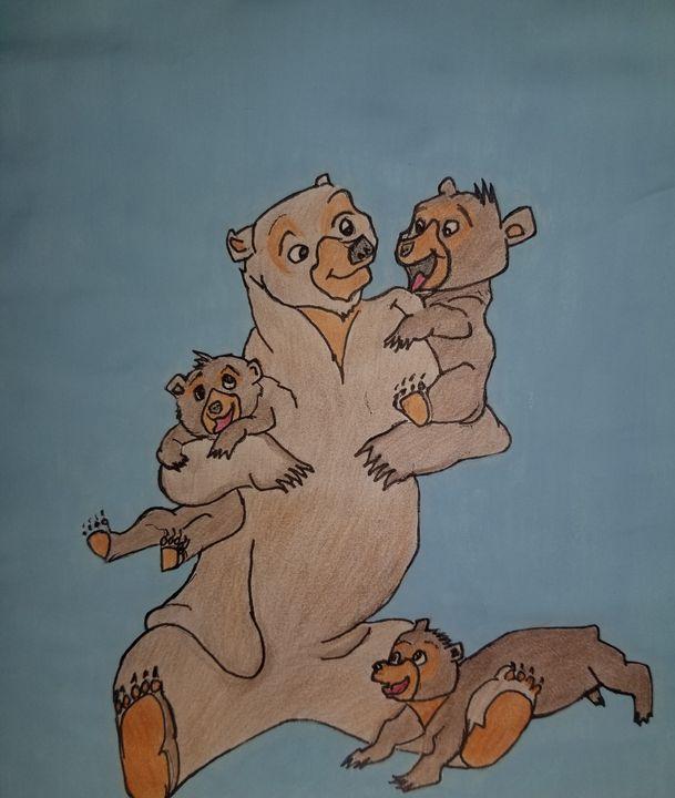 Momma bear - Bonnie's art