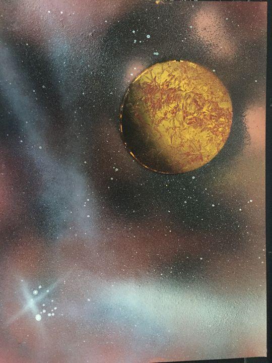 Gas Planet - Blueskye spray paint