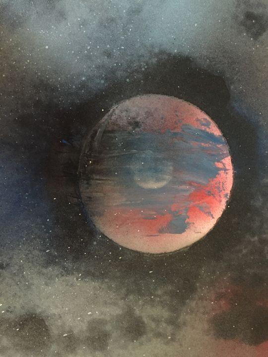 Shadow Planet - Blueskye spray paint