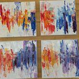 original four canvas painting