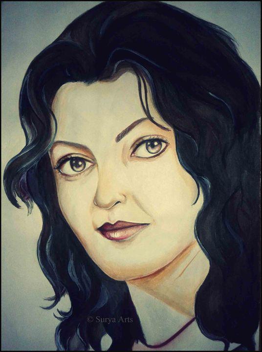 Portrait of Iranian Beauty - Surya Arts
