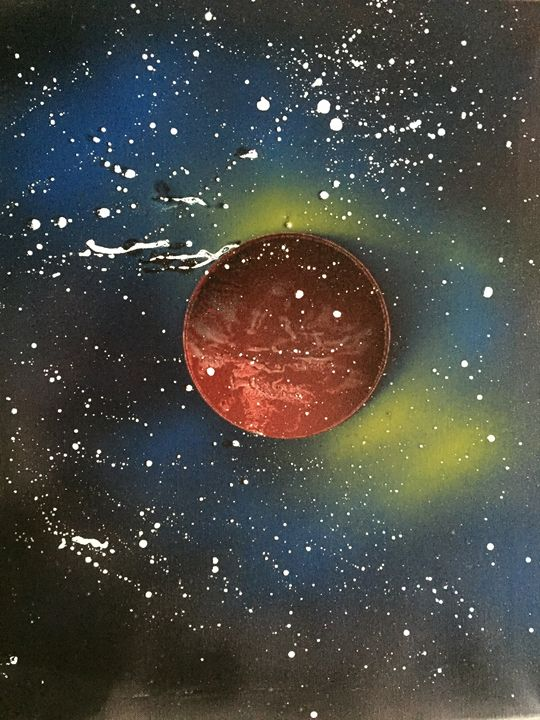 Red Planet - Fetters Art