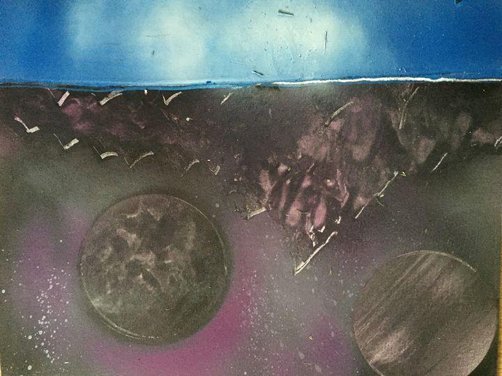Purple Mountains 2 - Fetters Art