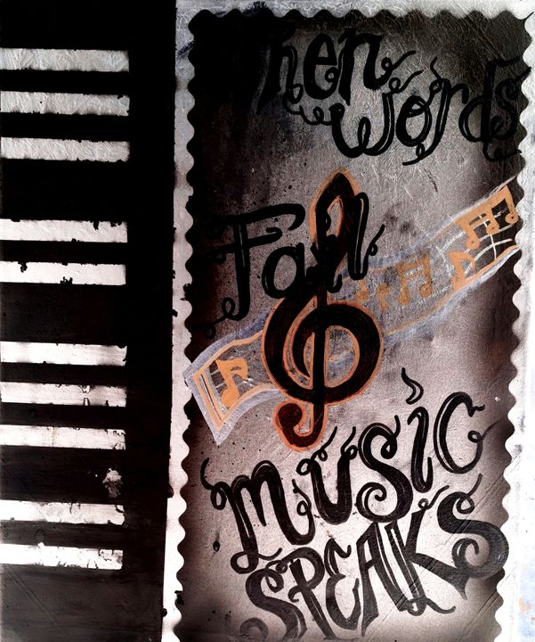 Music speaks - Taylormade creations