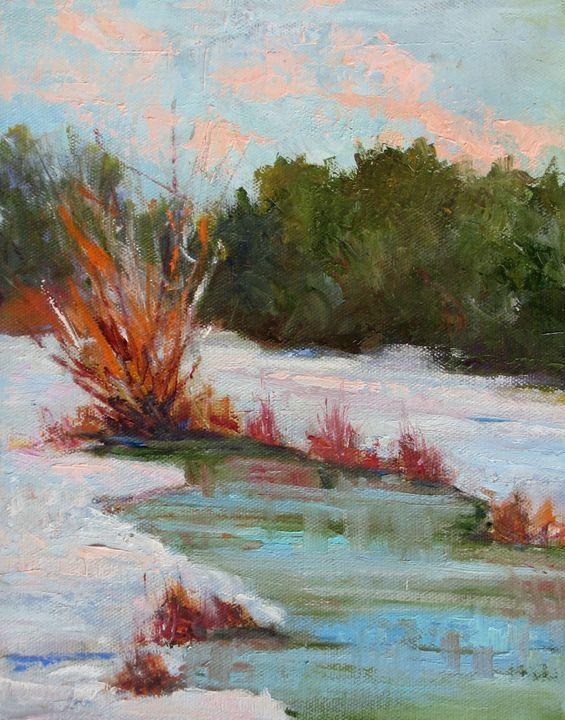 Snowy Day - Ellen Walton Fine Art Gallery