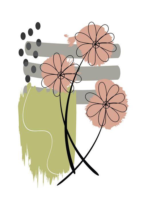 Zen Art Plant1 - DesignByV