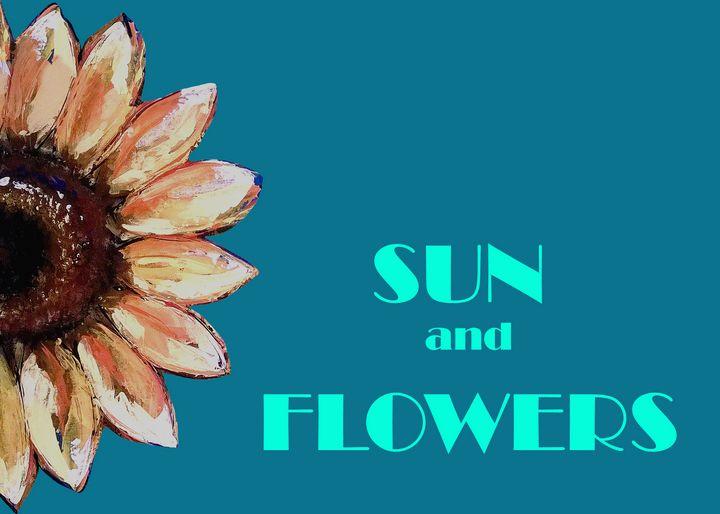 Sun and Flowers - DesignByV