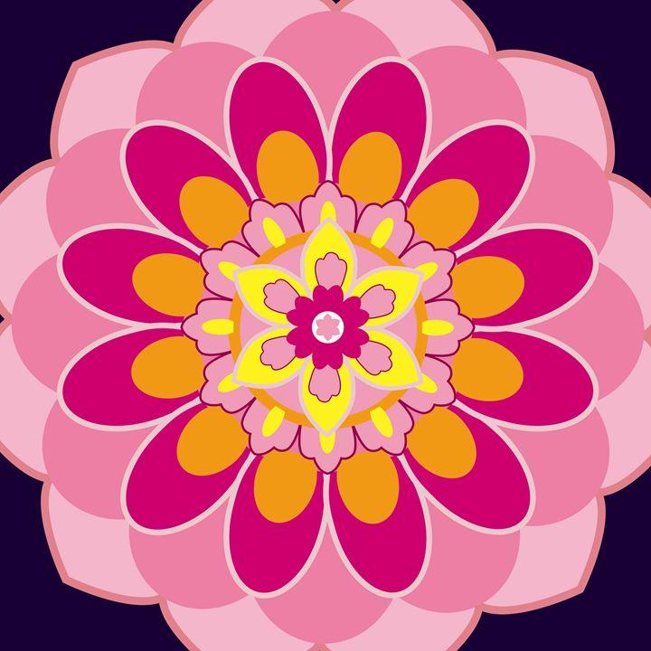 Pink Lotus - Petal Ink