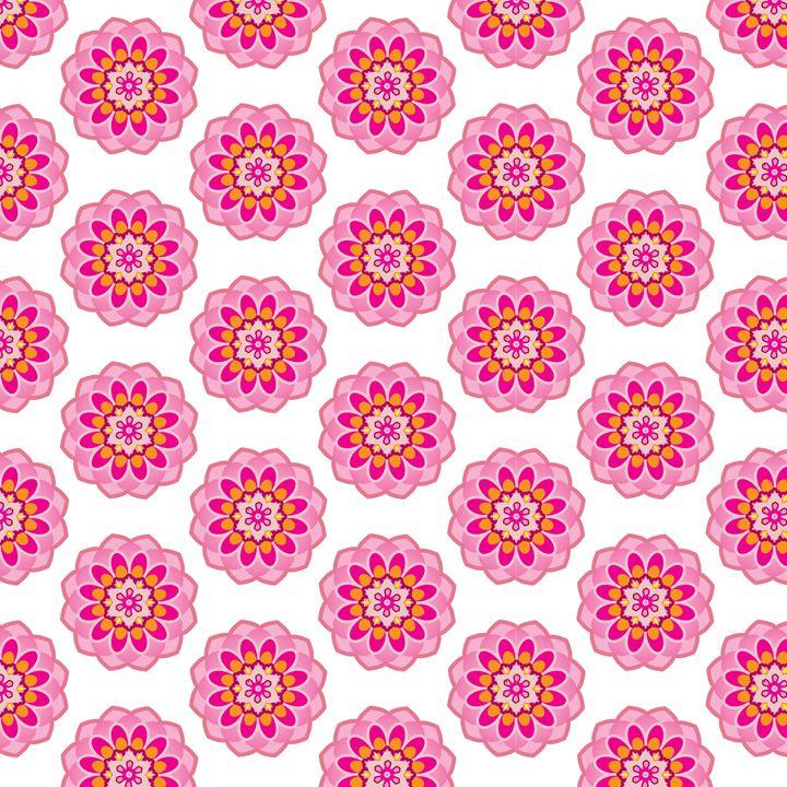 Pink lotus pond - Petal Ink