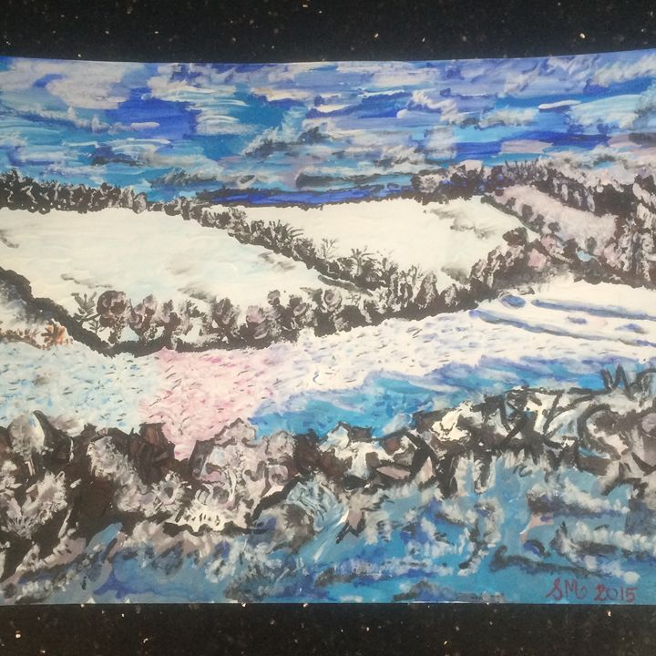 Snowy Valley Walk - My Kind of Art