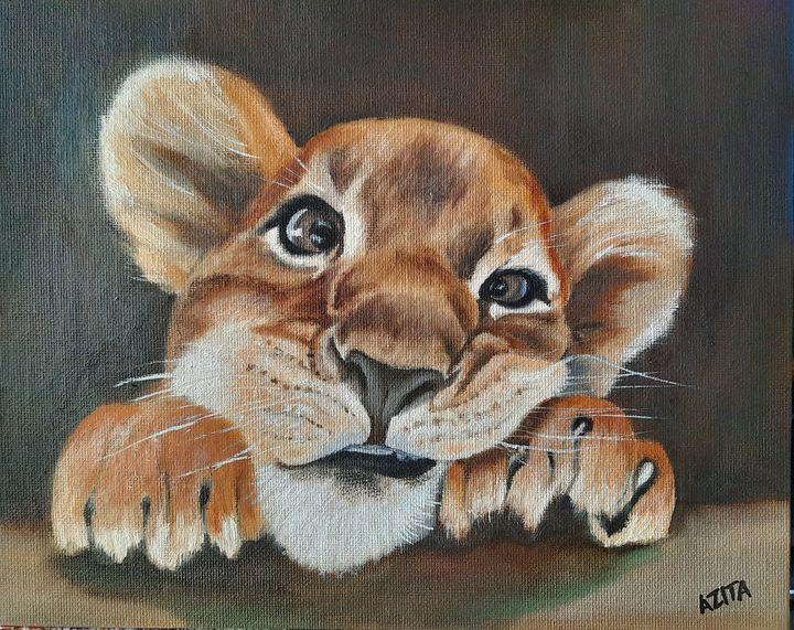 Simba - Azi Hess Art