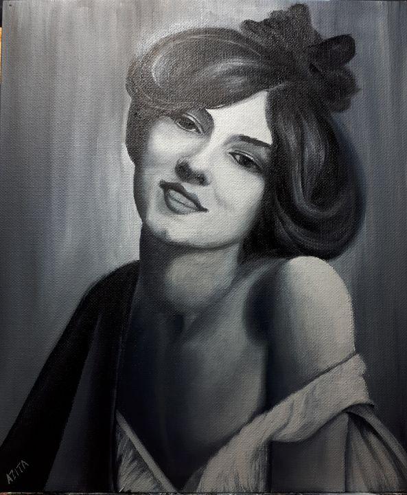 Evelyn Nesbit - Azi Hess Art