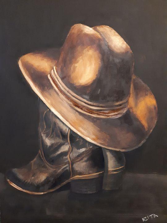 Boots - Azi Hess Art