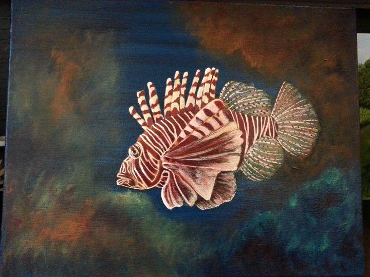 Fish - Azi Hess Art