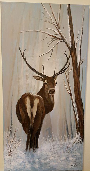 Deer - Azi Hess Art