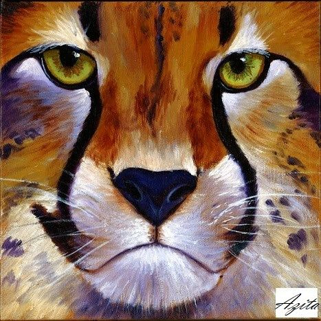 Cheetah - Azi Hess Art