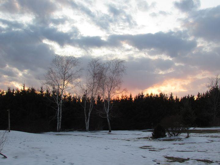Snow Sunset - Amanda Seilhammer
