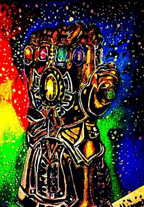 Thanos infinity Gauntlet - YodelArtAuction