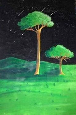 """Painting """"Trees"""" - BR art"""