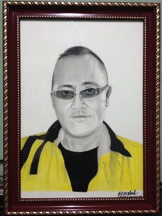 "Portrait ""boss - T. SUMEDA"" - BR art"
