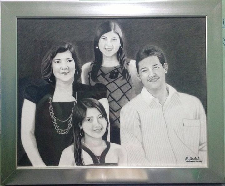 "Portrait ""Fabillar Family"" - BR art"