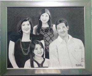 "Portrait ""Fabillar Family"""