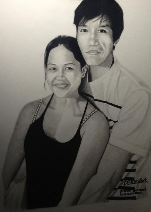 "Portrait ""Mahilum Couple"" - BR art"