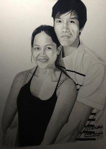 """Portrait """"Mahilum Couple"""""""