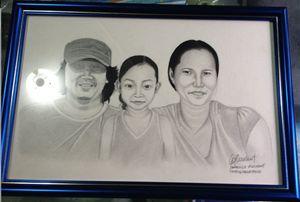 Portrait Mr. Moreno and Family