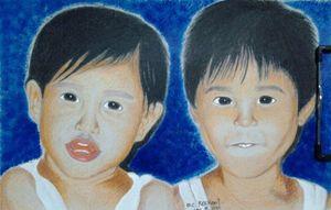 """Portrait """"Siblings"""""""