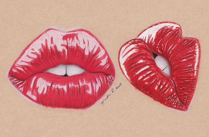 Seduction - Drawings by Jordon Ritchie