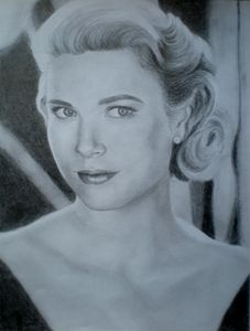 Grace Kelly Sketch