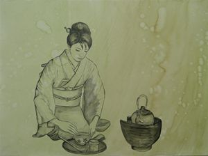 Japanese Tea Lady