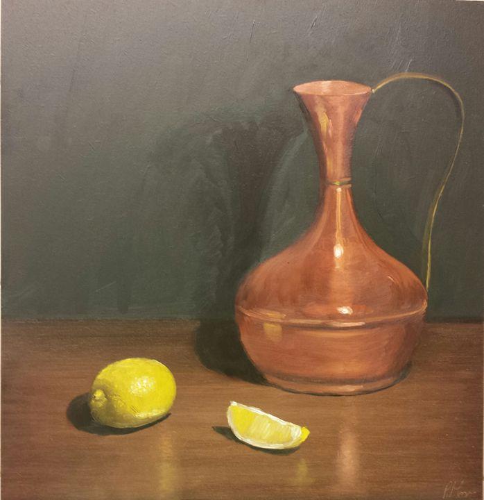 orange and yellow - Patricks Paintings