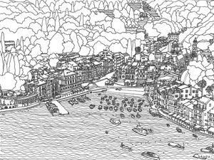 Hand drawn 'Genoa'