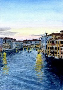 watercolor painting of 'Venice'