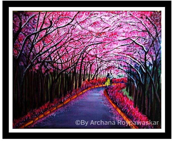Sakura - Archana Roy Pawaskar