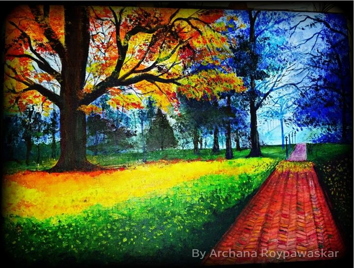 Serenity Park: nature's the artist - Archana Roy Pawaskar